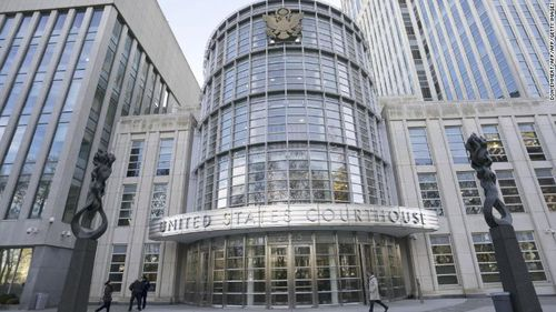 Guzman's trial was at the US federal courthouse in Brooklyn, New York.
