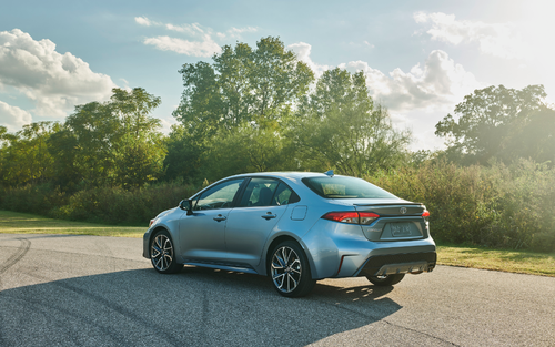 The new Toyota Corolla Sedan offers a combined 90kW of power from a four-cylinder petrol engine and two electric motor-generators, for claimed fuel use figures of just 4.2L/100km.