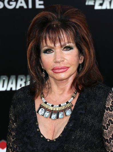 "Jackie Stallone attends the premiere of Lionsgate Films' ""The Expendables 3"" at the TCL Chinese Theatre on August 11, 2014 in Hollywood, California."
