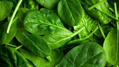 Spinach: 0.43g sugar per 100g