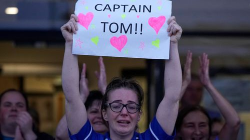 Captain Tom on track for United Kingdom number one single