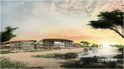 The new Monarto Safari Resort will have five-star facilities including glamping options for safari sleepovers.