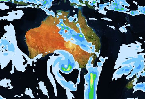 Forecasters say wild weather is set to hit Australia's eastern states.