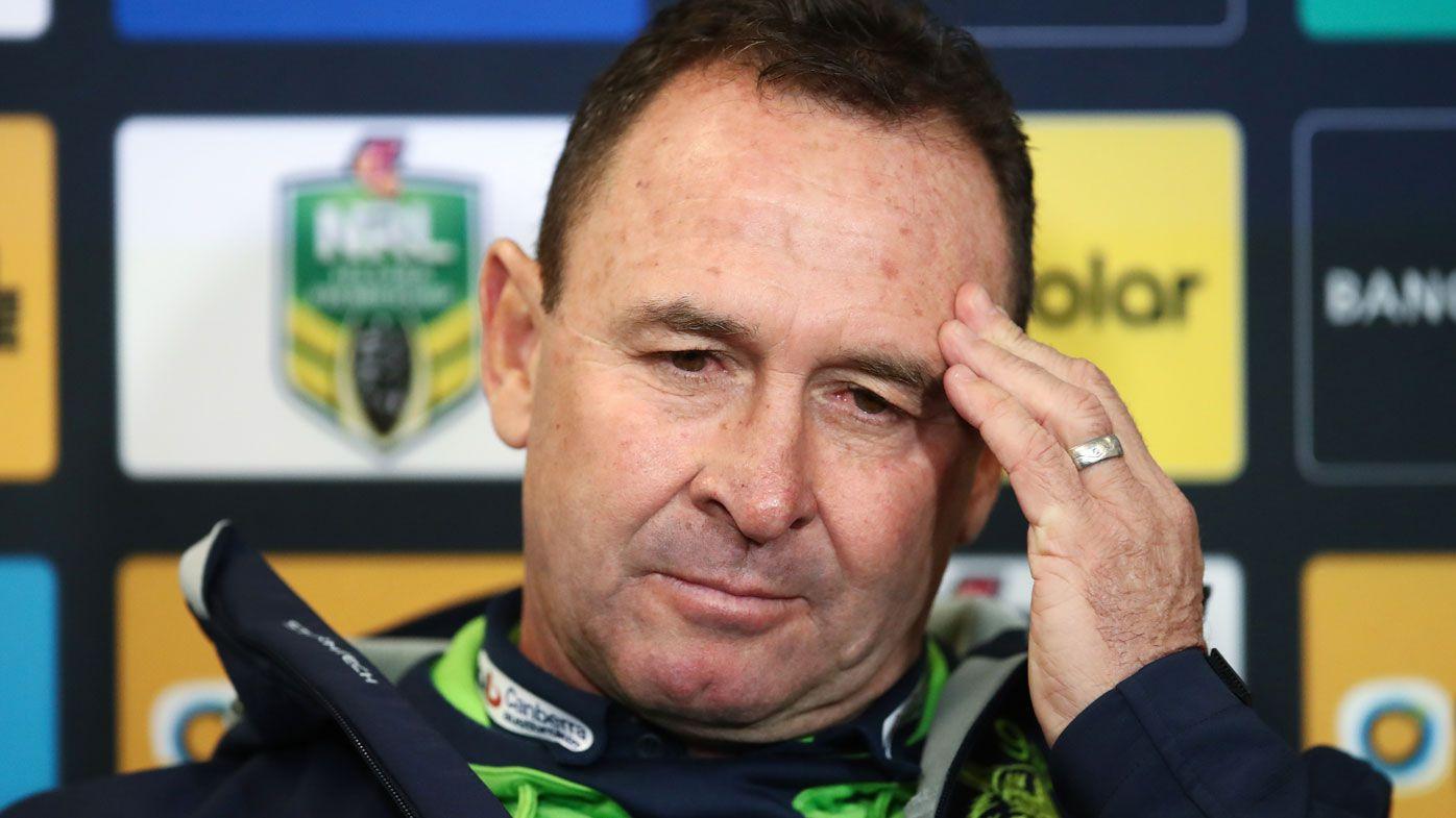 Raiders facing unwelcome NRL record