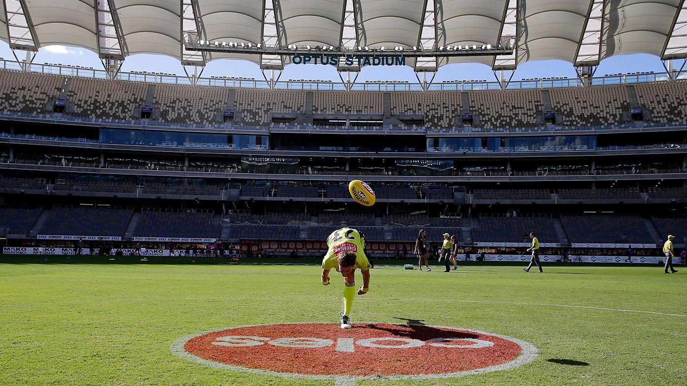 AFL Rd 1 - West Coast v Melbourne