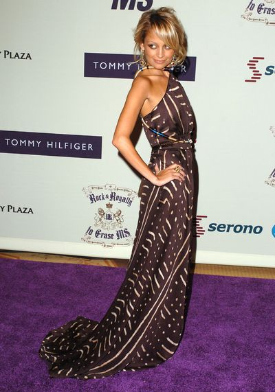 Nicole Richie at the Century Plaza Hotel in California, April, 2005