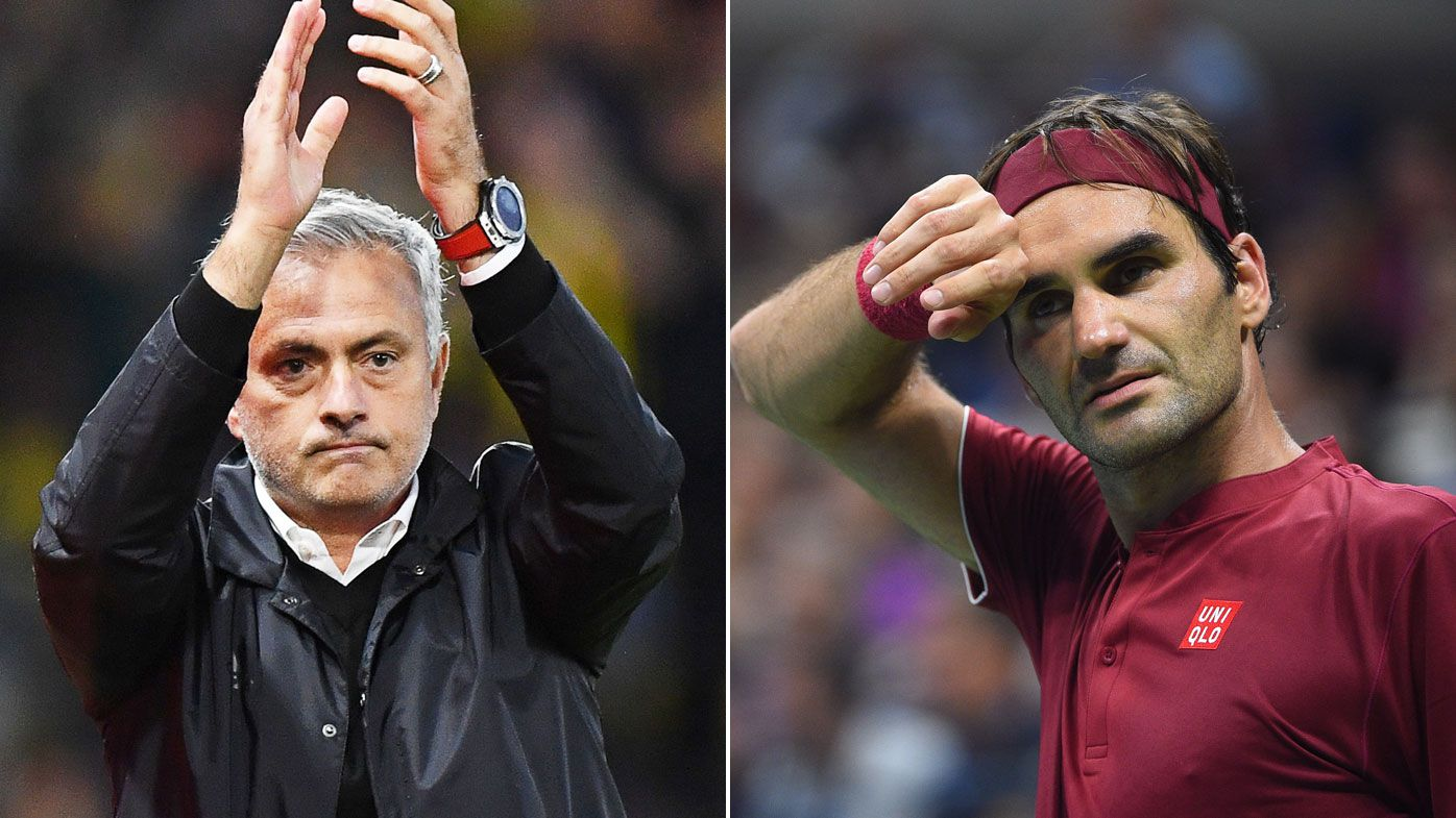 Red Devils coach Jose Mourinho tells United to look to Federer