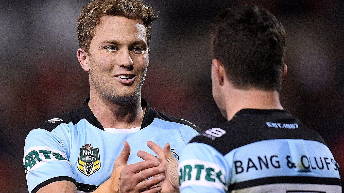 Matt Moylan stars on return to Panthers Stadium in Cronulla Sharks win