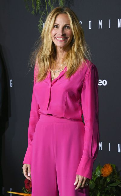 Julia Roberts at the premiere of their her show <em>Homecoming</em> in Los Angeles, October, 2018