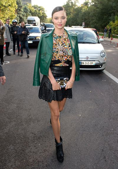 <p>Miranda Kerr - Model and Businesswoman</p> <p>Age: 34</p> <p>Go-to labels:&nbsp;Stella McCartney, Nicolas Ghesquière, and Azzedine Alaïa.</p>