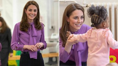 Kate visits the Henry Fawcett Children's Centre, March 2019