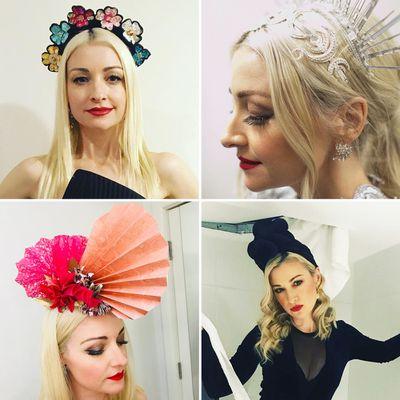 7. She loves a good headpiece