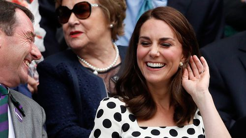 Princess Katherine is now the patron of the All England Lawn Tennis and Croquet club. (AAP)