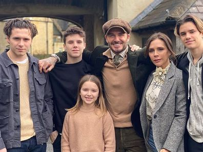 David Beckham, Victoria Beckham, family, kids, Cotswolds mansion