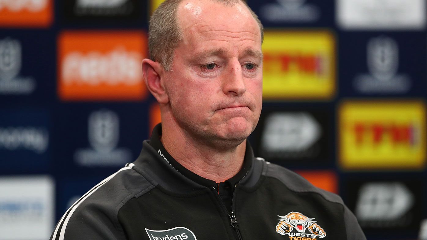 Wests Tigers coach Michael