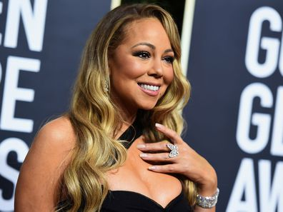 Mariah Carey pictured in 2019.