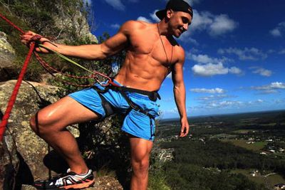 So what else do you need to know about Tyson? He's 28 and a former Gold Coast real estate agent with abs of steel (see left). And he has a blog called The Naked Traveller!<br/><br/>In February 2014, he won travel company Jauntaroo's much-hyped 'best job in the world' as Chief World Explorer, winning $100,000 and travelling to 50 destinations in one year.<br/><br/>He's got plenty of charity work under his belt too: he installed water filters in remote communities in Uganda and volunteers as an ambassador for non-profit clean water organisation RainCatcher.<br/><br/>Sigh, what a catch.
