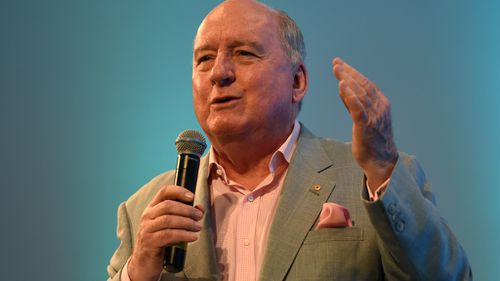 Alan Jones. (AAP)