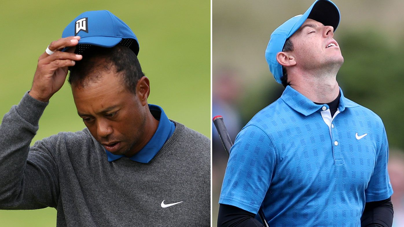 'Played terrible': Big names and Aussies struggle after brutal British Open first round