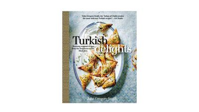 "<a href=""http://www.kylebooks.com/page/detail/Turkish-Delights/?K=e201607061218048298"" target=""_top"">Turkish Delights &nbsp;</a><br> By John Gregory Smith<br> Kyle Books, AU $39.99"