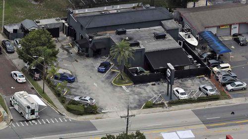 An aerial shot of Pulse nightclub. (AP Photo)