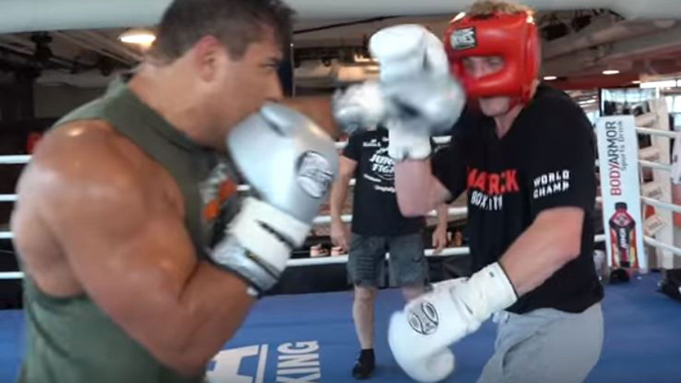 YouTube star Logan Paul knocked out by UFC fighter Paulo Costa in sparring session