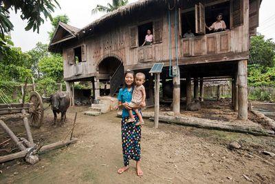 15. Traditional Burmese Teak Farmhouses, Myanmar