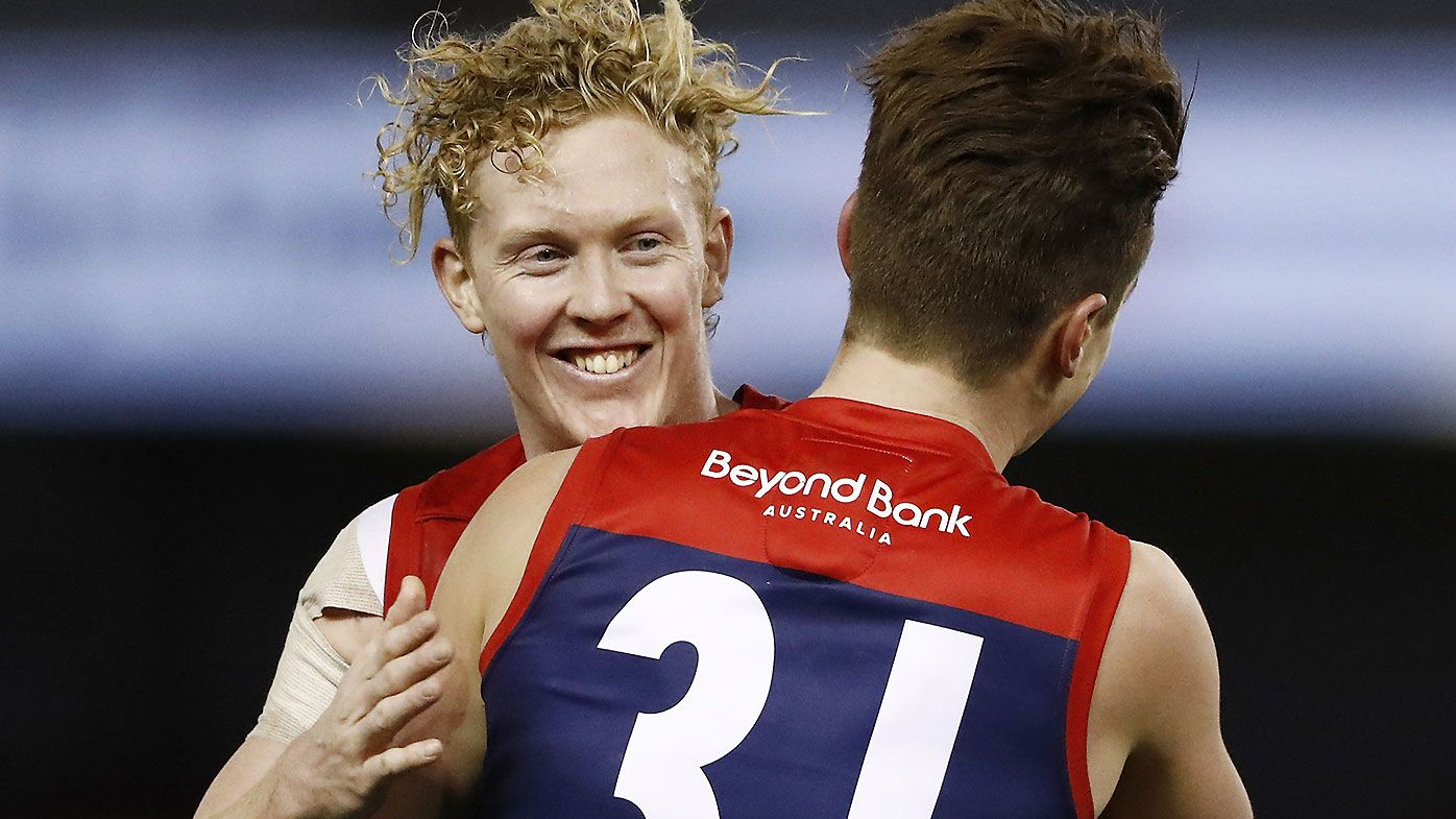 Melbourne takes out battle of AFL heavyweights after Simon Goodwin's 'coaching masterclass'