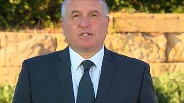 Police Minister David Elliott.