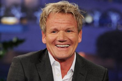 Gordon Ramsay is the king of the foul mouth, and it seems his bad attitude has also rubbed off on his appearance. 45? Those look like the wrinkles of a 70-year-old!