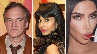 Jameela Jamil, Quentin Tarantino and Kim Kardashian