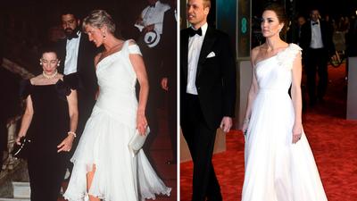 Kate Middleton at the 2019 BAFTA awards.