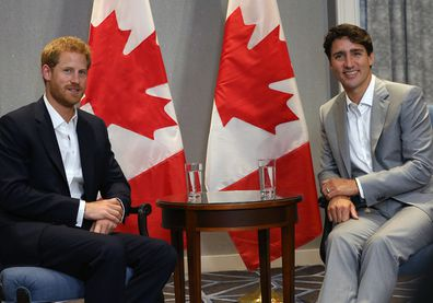 Prince Harry in Toronto ahead of the Invictus Games 2017 has a Bilateral meeting with Prime Minister Justin Trudeau