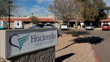 The Hacienda HealthCare facility in Phoenix, where an incapacitated woman was raped and later gave birth.