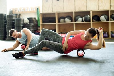 <strong>Hit the foam roller</strong>