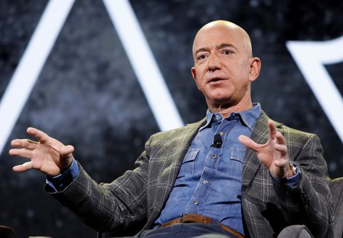 Amazon CEO Jeff Bezos will be aboard for Blue Origin's first human space flight.