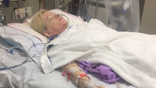 She has had 83 surgeries since and was not expected to live.