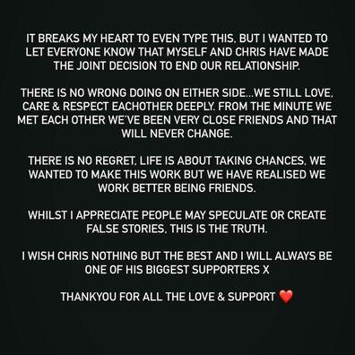 Love Island UK Maura Higgins and Christopher Taylor break up