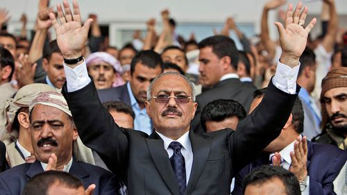 Former Yemen president Ali Abdullah Saleh has been killed by his former allies. (Photo: AP).