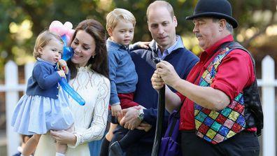 Kate Middleton and Princess Charlotte and Prince George