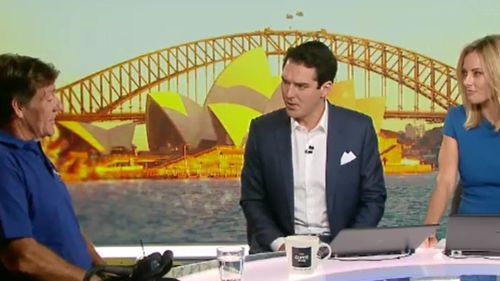 Mr Moore spoke to Peter Stefanovic and Allison Langdon on the TODAY Show this morning. (9NEWS)