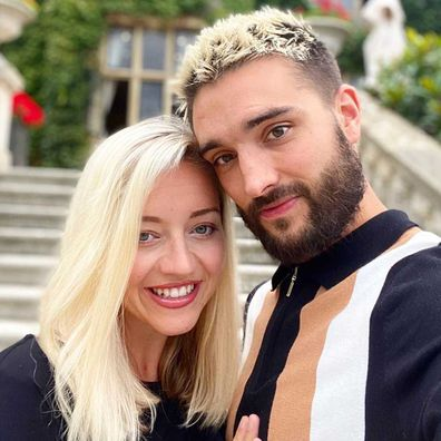 Tom Parker and his wife, Kelsey Hardwick.
