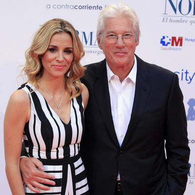 Richard Gere, 70, and Alejandra Silva, 36