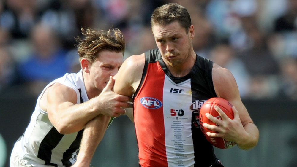 Injured Saints stun listless Pies in AFL