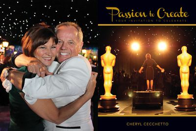 Cheryl's <i>Passion To Create: Your Invitation to Celebrate</i> is in bookstores now at $49.99. As well as the Hollywood stories, Cheryl offers advice for entertaining at home, including recipes, table styling, wedding ideas and party planning.<br/><br/>Images: New Holland Publishers