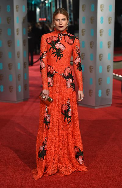 <p>The fact this year's British Academy of Film and Television Arts Awards fell on Valentine's day wasn't lost on the A-lister attendees with red-hued gowns, accessories and lipsticks being a popular choice for the event. Metallic finishes and intricate detailing also prevailed, making this one of the best dressed red carpets of the award season.  </p><p>Click through to see who gets your best dressed.  </p>