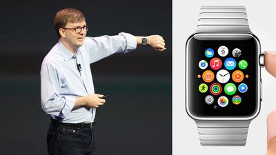 Apple claims a 'whole new era' for apps, feeding the crucial information right to your wrist. The watch will use a new platform that developers will need to learn and tinker with.