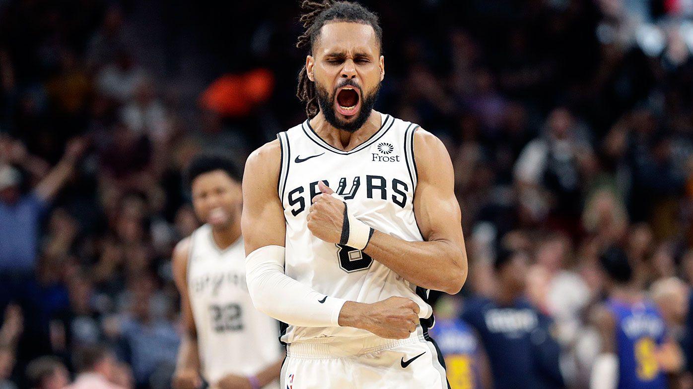 competitive price 57d63 8b9b7 NBA Playoffs: Aussie Patty Mills' San Antonio Spurs force ...