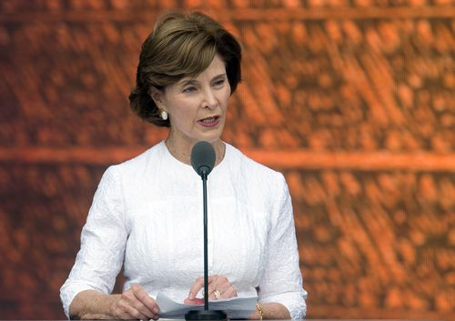 Laura Bush has hit out at the current border policy in an opinion piece in the Washington Post. Picture: AAP