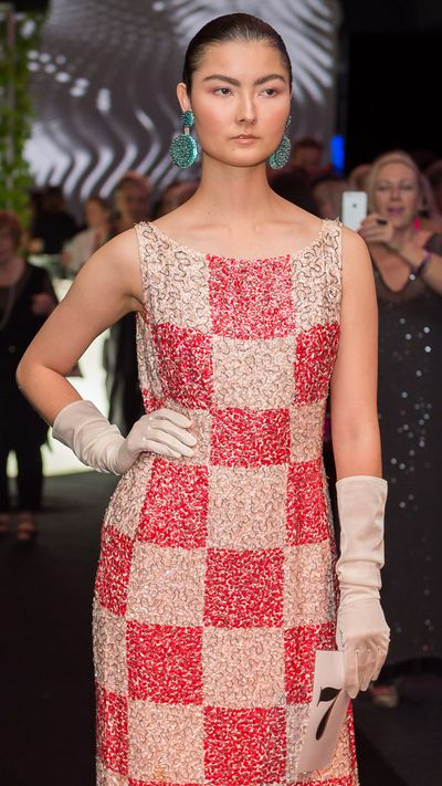 Runway from the Darnell Collection at the opening of Coming intoFashion at the Arts Centre Gold Coast.